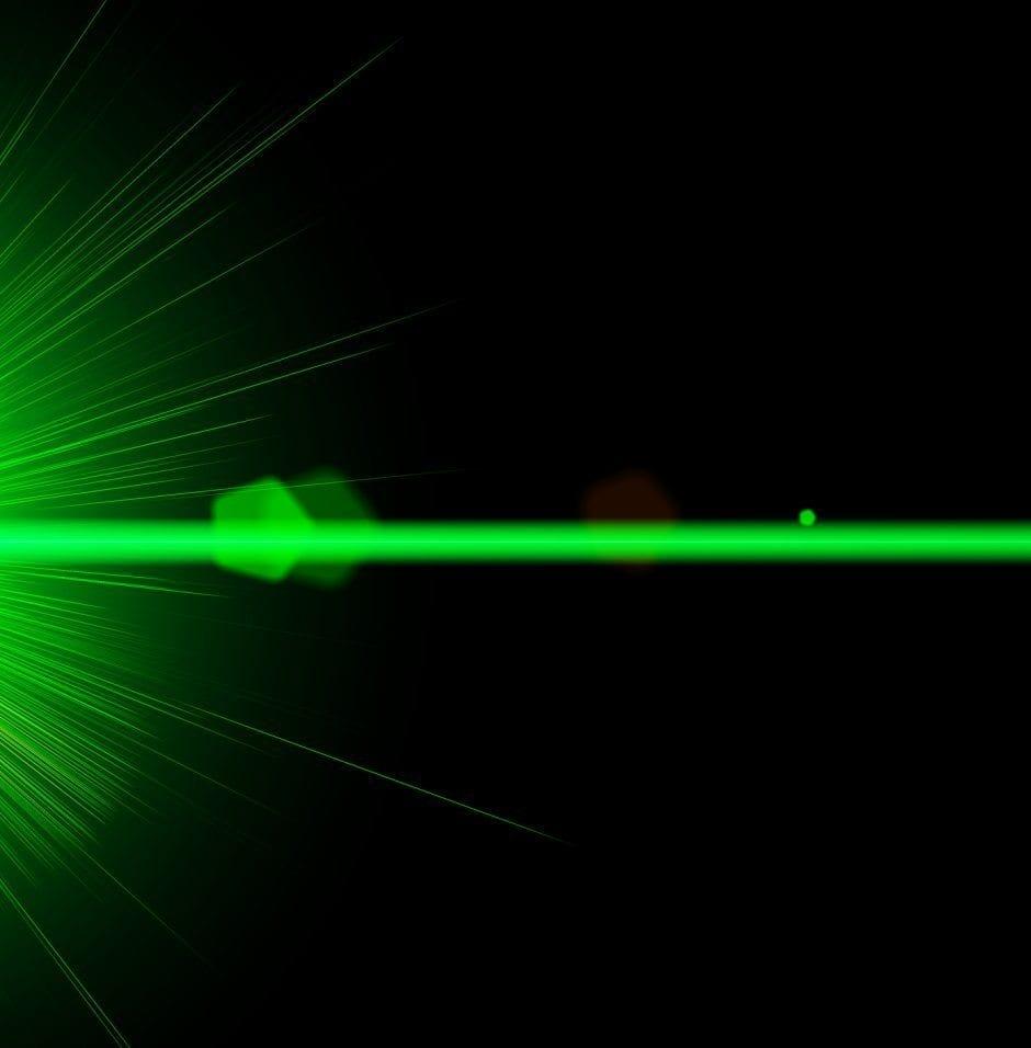 Green Line Laser Module