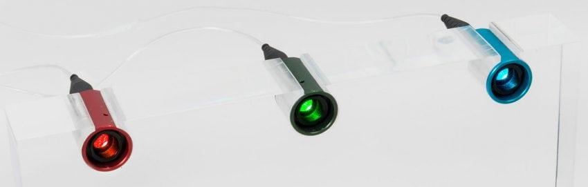 Fiber coupled laser diode modules