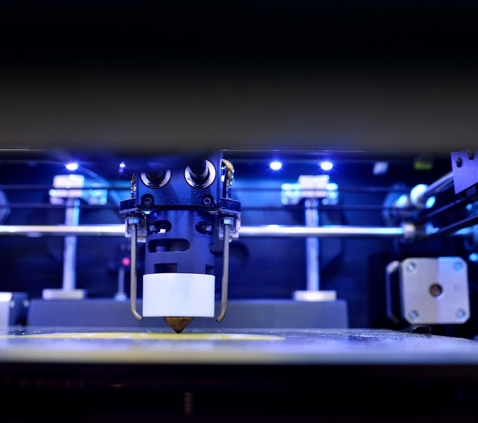 3d automated printing machine working - Prophotonix UV LED Curing System